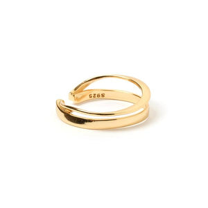 ARMS OF EVE - Hayley Ring (Gold) - Australian Fashion and Accessories Boutique - Faid Store