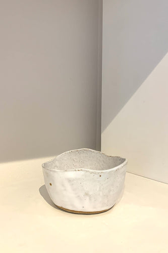 KJE CERAMICS - Organic Bowl - White
