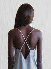 Load image into Gallery viewer, MS KENSINGTON- Silk Camisole - Sydney Blue