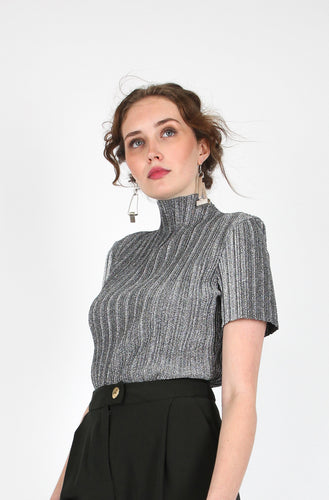 CEDAR & ONYX - Silver Linings Top - Australian Fashion and Accessories Boutique - Faid Store