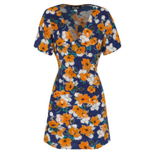 Load image into Gallery viewer, RAE26 - Gemma Dress (Painterly Floral) - Australian Fashion and Accessories Boutique - Faid Store