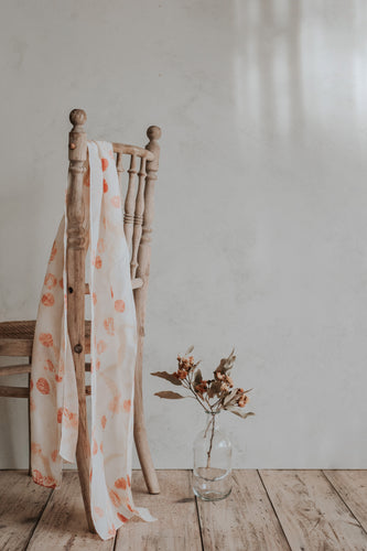 HUNTER MADE - 'Ethereal Eucalyptus' Signature Print - Medium Scarf
