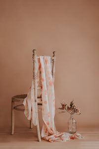 HUNTER MADE - 'Ethereal Eucalyptus' Signature Print - Large Wrap