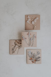 HUNTER MADE - Native Pressed Flowers + Recycled Cards