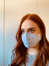 Load image into Gallery viewer, CEDAR & ONYX - Fabric Face Mask (Stripe)