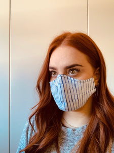 CEDAR & ONYX - Fabric Face Mask (Stripe)