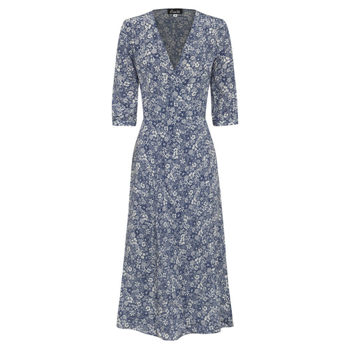 RAE26 - Annika Dress (Linear Floral)