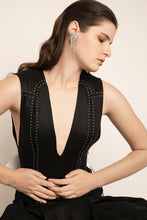 Load image into Gallery viewer, PALMA MARTÎN - Flaunt Stud Pleat Dress - Australian Fashion and Accessories Boutique - Faid Store