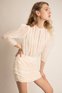PALMA MARTÎN- Dreamboat Skirt (Natural) - Australian Fashion and Accessories Boutique - Faid Store