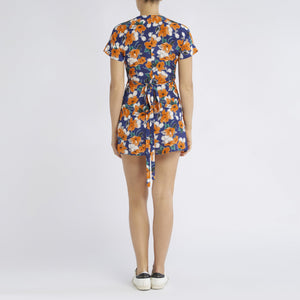 RAE26 - Gemma Dress (Painterly Floral)