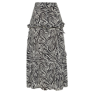 RAE26 - Eliza Skirt (Mixed Animal) - Australian Fashion and Accessories Boutique - Faid Store