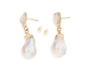 ARMS OF EVE - Saint-Michel Baroque Pearl Earrings - Australian Fashion and Accessories Boutique - Faid Store