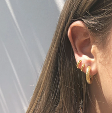 Load image into Gallery viewer, ARMS OF EVE - Allegra Gold Hoop Earrings
