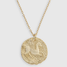 Load image into Gallery viewer, ARMS OF EVE - Pegasus Gold Pendent Necklace - Australian Fashion and Accessories Boutique - Faid Store