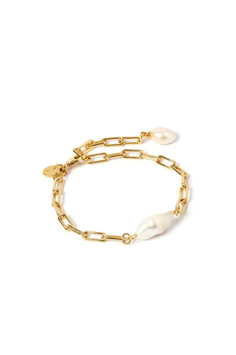 ARMS OF EVE - Danielle Gold and Pearl Bracelet