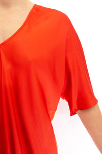 BAZ INC. - Red Top - Australian Fashion and Accessories Boutique - Faid Store