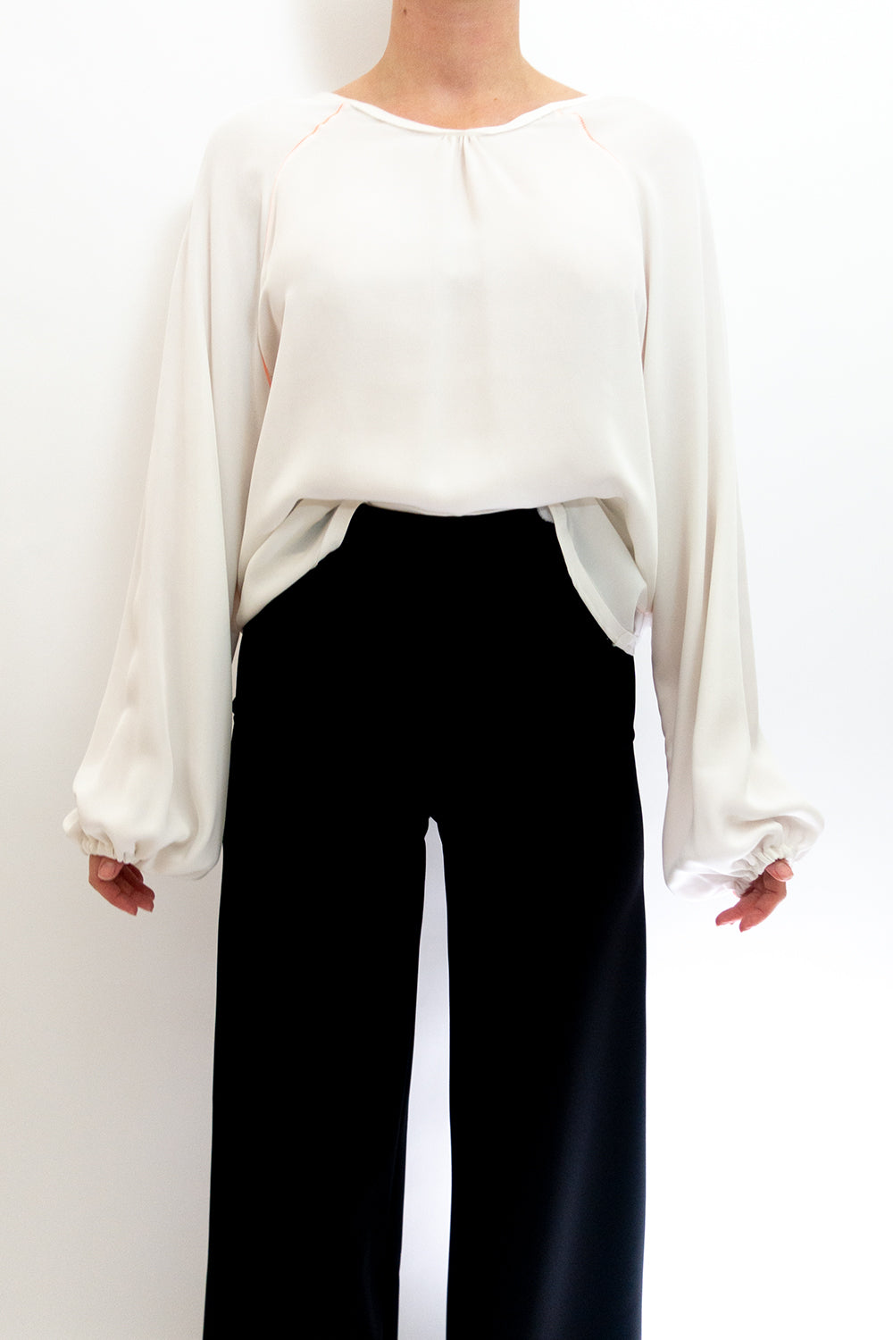 BAZ INC. - White Blouse - Australian Fashion and Accessories Boutique - Faid Store
