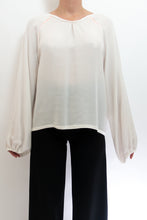 Load image into Gallery viewer, BAZ INC. - White Blouse - Australian Fashion and Accessories Boutique - Faid Store