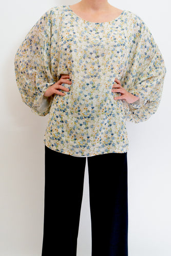 BAZ INC. - Floral Garden Top - Australian Fashion and Accessories Boutique - Faid Store