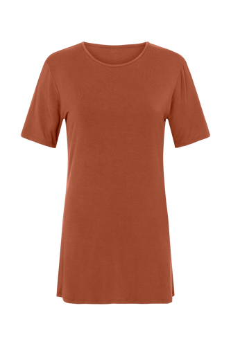 CEDAR & ONYX - Where Have You Been... Bamboo T-shirt (Cedar) - Australian Fashion and Accessories Boutique - Faid Store