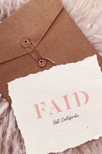 Load image into Gallery viewer, Faid Gift Card - Australian Fashion and Accessories Boutique - Faid Store
