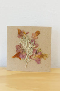 HUNTER MADE - Native Pressed Flowers + Recycled Cards - Australian Fashion and Accessories Boutique - Faid Store