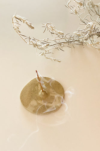 KJE Ceramics - Incense Holder (Sand)