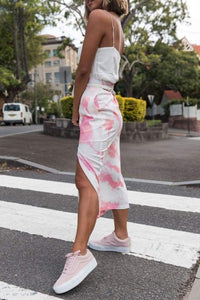 SILK WOLFE - Magnolia Maxi Skirt - Australian Fashion and Accessories Boutique - Faid Store