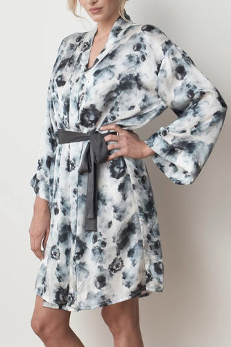MS KENSINGTON - Silk Robe - London Print - Australian Fashion and Accessories Boutique - Faid Store