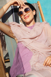 EVERYDAY CASHMERE - Supersoft Cashmere Scarf (Nude Pink)
