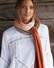 Load image into Gallery viewer, EVERYDAY CASHMERE - Burnt Orange Obre Wrap