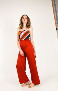 CEDAR & ONYX - Terra Orange Pant - Australian Fashion and Accessories Boutique - Faid Store