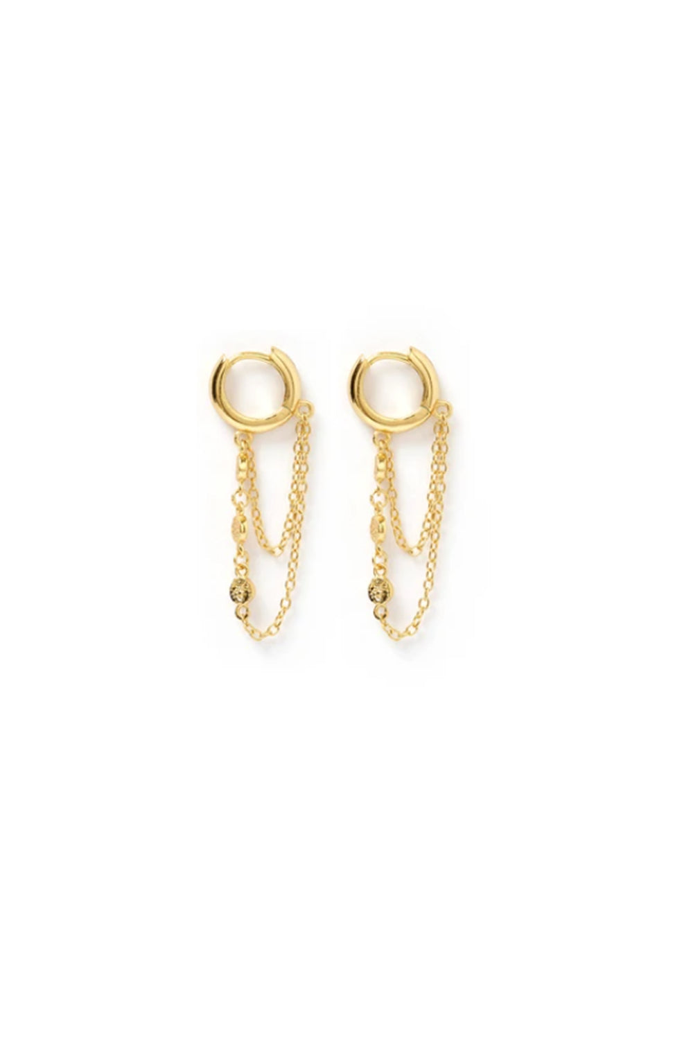 ARMS OF EVE - Paloma Gold Huggie Earrings