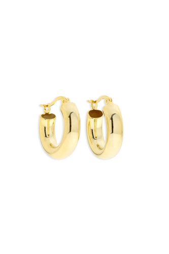 ARMS OF EVE - Bella Gold Hoops - Australian Fashion and Accessories Boutique - Faid Store