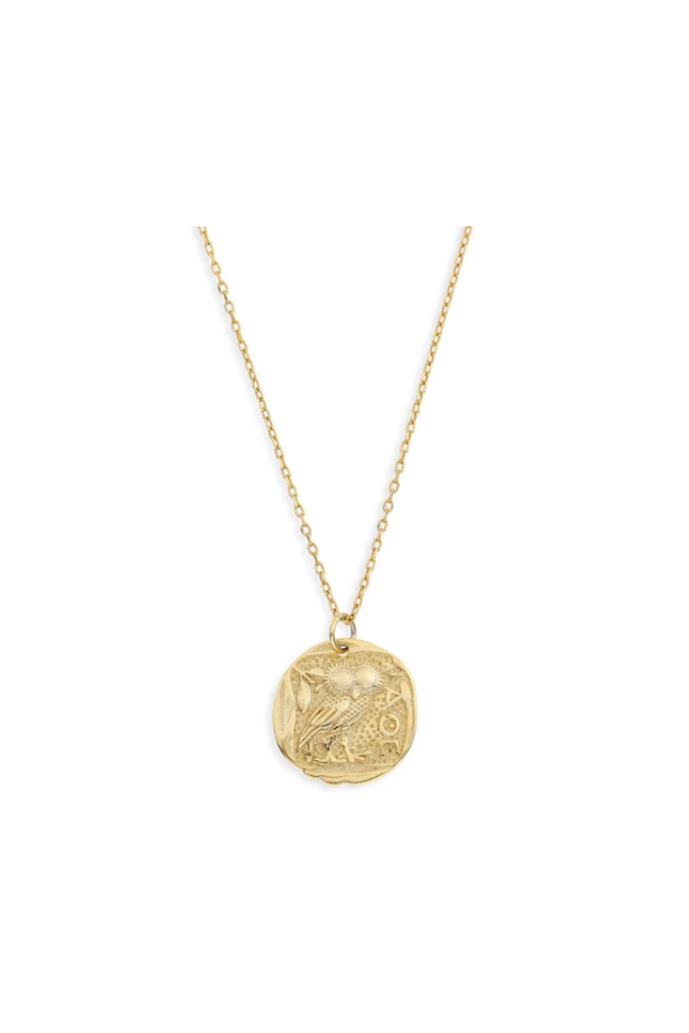 ARMS OF EVE - Pegasus Gold Pendent Necklace - Australian Fashion and Accessories Boutique - Faid Store