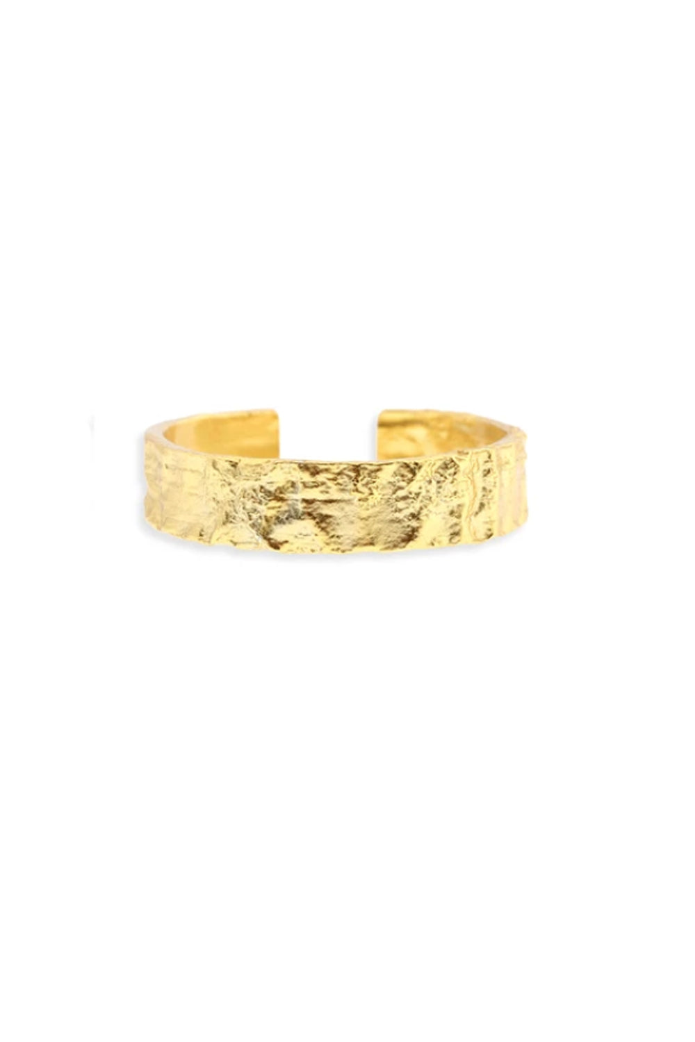 ARMS OF EVE - Eros Gold Textured Ring - Medium - Australian Fashion and Accessories Boutique - Faid Store