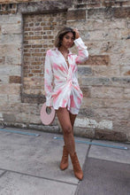 Load image into Gallery viewer, SILK WOLFE - Smell The Roses Shirt Dress - Australian Fashion and Accessories Boutique - Faid Store