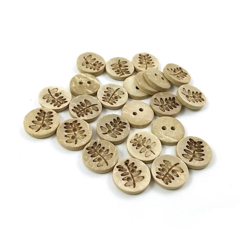 Bulk set of 15 Dark Brown 3.5 x 1.1cm Wholesale wooden Toggle Buttons