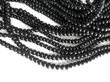 Load image into Gallery viewer, Natural black horn beads 7mm - eco friendly and natural horn beads