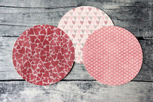 Load image into Gallery viewer, 2 Inch Round Tags Images - Valentine Hearts - Digital Collage Sheet