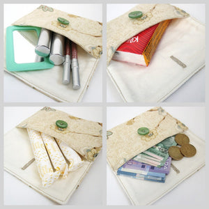 DIY Pouch Sewing Pattern - tutorial PDF download ePattern