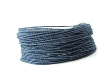 Load image into Gallery viewer, 0.5mm Cotton Cord, Natural or Blue, 10 meters/32.8 ft