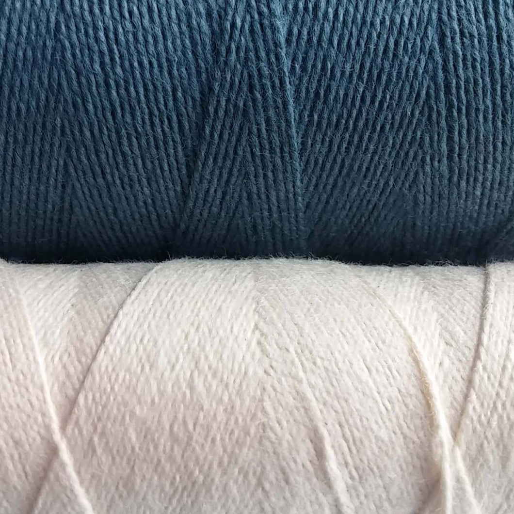 0.5mm Cotton Cord, Natural or Blue, 10 meters/32.8 ft