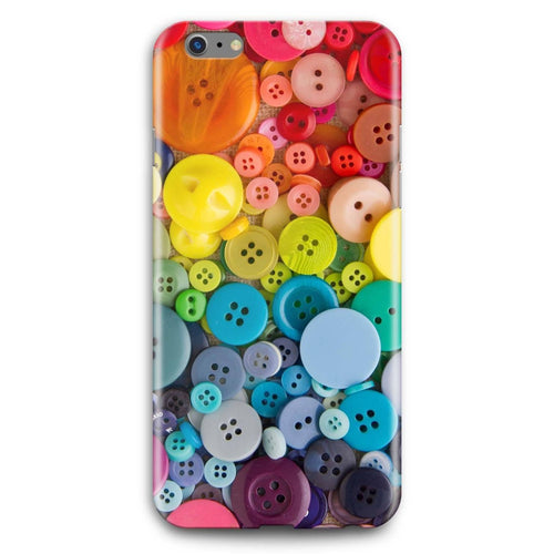 Rainbow Buttons Phone Case - Free shipping USA and Canada