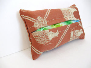 DIY Travel pocket tissue holder tutorial - tutorial PDF download sewing pattern