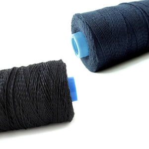 Black or Blue Bamboo Cord 1mm - 10 meters/32.8 ft