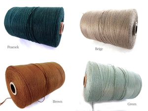 Twine Bamboo Cord 0.7mm - 10 meters/32.8 ft - 15 colors available