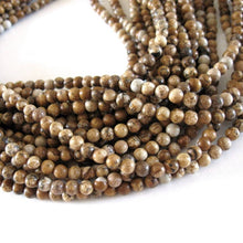 Load image into Gallery viewer, Natural Picture Jasper Stone Beads Strands 4mm Round