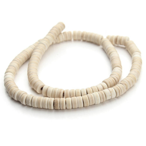 White Turquoise Stone Beads Strands 6mm Rondelle