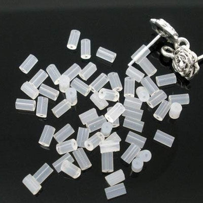 200 Rubber Tube Style Ear Nut, 4x2mm